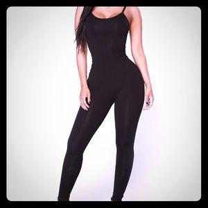 Black Stretchy Body Suit